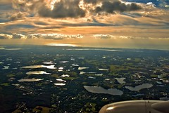 Shoreline (DonMiller_ToGo) Tags: gulfofmexico clouds inflight florida aerial skyscapes gf1 views100 views200 views300