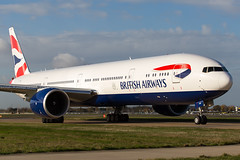 British Airways Boeing 777-300/ER G-STBH (LHRlocal) Tags: london plane airplane flying airport heathrow aircraft aviation flight aeroplane british boeing britishairways 777 spotting lhr heathrowairport flugzeuge planespotting boeing777 egll canon6d philbroad gstbh