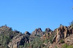 Looking above the High Peaks (daveynin) Tags: california rock nps formation pinnacles trailhead deaftalent deafoutsidetalent deafoutdoortalent