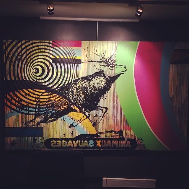 "Sin Titulo Jorge Cabieses • ""Bestiario"" #muestra colectiva #arteenlima #arte #artinlima #art #artistaperuano #artist #artista #peruvianartist"