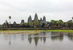 Angkor Wat - Angkor, Cambodia (Petitecornichon) Tags: temple cambodia vishnu khmer buddha buddhist buddhism angkorwat mount ii siemreap angkor hindu hinduism mythology angkorthom meru templemountain vara templecity mountmeru devas basreliefs 2013 suryavarman devatas suryavarmanii shaivism cityoftemples yasodharapura preahpisnulok vishnuloka galleriedtemple jagati យសោធរបុរៈ អង្គរវត្ត