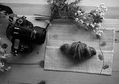 I love a croissant. (e_haya) Tags: food croissant sonynex5