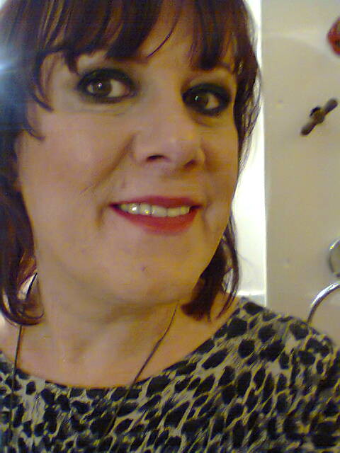 Another selfie (luvlylaura) Tags: mac purple makeup tgirl transgender  makeover hairstyle hairstyles selfie