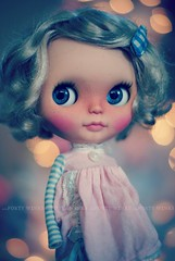 A Doll A Day. Dec 15. Twinkle Lights.
