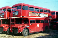 RM273 VLT273 chalked up for overhaul September 1983 (sms88aec) Tags: 1983 aldenham openday