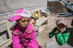 Tibetan children,Zhongba country (woOoly) Tags: china tibet ali  westerntibet ngari tibetangirl tibetankids  tibetanchild   coqencountrychangtang tibetanchildern