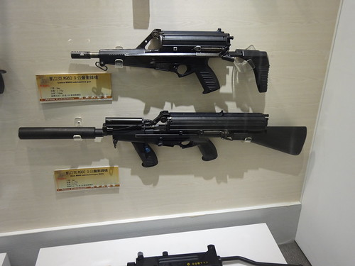 Calico M960 submachine gun