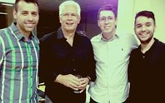 Robson, Emerson Leao, Ramon e Marcos
