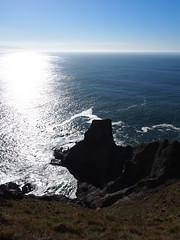 P1250054 (benguernsey) Tags: ocean cliff beach oregon pacific astoria cannonbeach oswaldwest shortsands traveloregon
