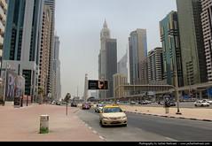 Sheikh Zayed Road, Dubai (JH_1982) Tags: road building architecture skyscraper canon buildings eos highway eau dubai skyscrapers united uae emirates zayed arab highrise emirate sheikh unis highrises  vae unidos e11 szr  duba    rabes arabes emiratos vereinigte arabische dubayy   60d  mirats              dubi