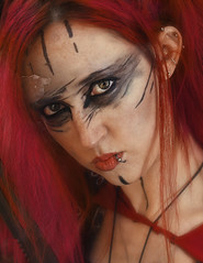 Model - Amber Araneae (nancy_mic) Tags: red beautiful oregon model truth apocalypse redhead powerful amberaraneae nancymic