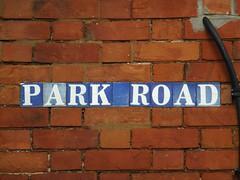 Minton Tile Street Sign 'PARK ROAD', Dawlish (Mark........) Tags: sign tile streetsign streetname minton ceramictile dawlish parkroad tilesign