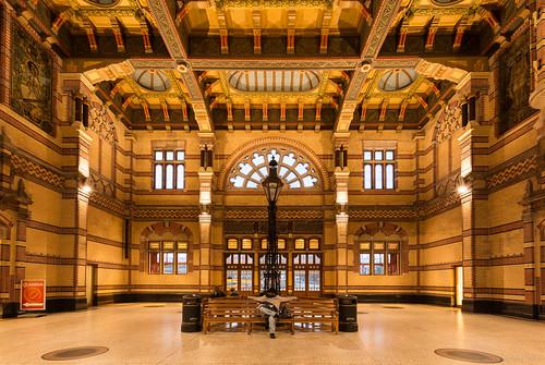 Groningen Railwaystation - Central Hall