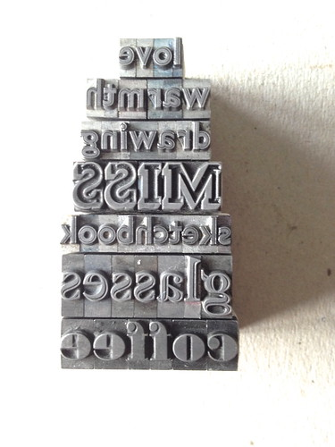 """letterpress for Home exhib • <a style=""""font-size:0.8em;"""" href=""""http://www.flickr.com/photos/61714195@N00/12928302465/"""" target=""""_blank"""">View on Flickr</a>"""