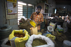 The Spice Man of Kochi, Kerela, India