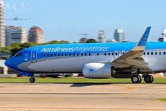 LV-FQY (M.R. Aviation Photography) Tags: argentina jorge aep boeing sabe b737 aeroparque argentinas b737800 aerolineas newbery skyteam b737700