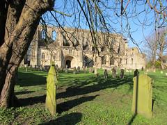 Malmesbury Abbey (pefkosmad) Tags: church abbey exterior norman wiltshire placeofworship malmesbury sundaydrive malmesburyabbey southporch