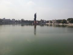 Sursagar Lake, Vadodara (hcpatel29) Tags: lake day baroda partlycloudy vadodara bholenath shivji sursagar