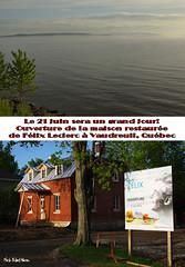 La Maison Flix  Vaudreuil... / The house of poet Felix Leclerc in Vaudreuil, Quebec (Pentax_clic) Tags: pentax quebec felix mai leclerc chanteur kx 2014 anse poete vaudreuil robertwarren