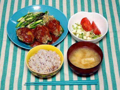2014年5月26日の晩ご飯