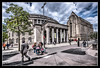 St Peters Square (Fermat48) Tags: red sky clouds manchester townhall stpeterssquare hdr telephonebox centrallibrary thebestofhdr