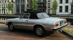 1977 Alfa-Romeo Spider 1600 (peterolthof) Tags: spider alfaromeo alfaspider alfaromeospider sidecode3 sidecode2 06sg93