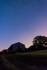 A Blanket of Stars (Thom Gibbs) Tags: longexposure field night barn canon lens stars landscape photography eos rebel star long exposure wide astrophotography blanket dorset thom second kit 20 1855 gibbs t3i 18mm f35 blandford 600d thomgibbs