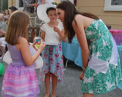 Philadelphia Rose Mairead Comaskey with best dressed girls Ava Facciolo & Anna McCabe