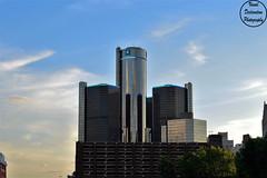 GM Building (VisualDeclarationPhotography) Tags: sky skyline architecture photography nikon gm downtown cityscape michigan detroit generalmotors downtowndetroit nikond3200 gmbuilding