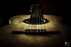 """""""My guitar is not a thing. It is an extension of myself. It is who I am."""" (antonelloimineophotography) Tags: guitar classical minimalism strings"""