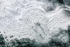 Ice Graphic (Aerial Photography) Tags: by deg ndb 02032011 1ds59853 burgsee deggendorf eis fotoklausleidorfwwwleidorfde hackerweiher landschaft luftaufnahme luftbild natternberg see stimmung abstrakt aerial ice lake landscape mood outdoor bayern deutschlandgermany deu