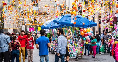 2016 - Mexico - Morelia - Calle Hidalgo