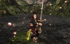 A Prayer To Athena (DaniGraphix Resident) Tags: hausofgraphelle secondlife sl avatar fantasy amazon wonderwoman diana prince