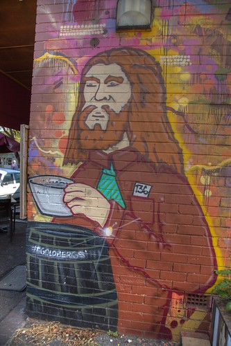 Grafitti - Goldberg's Lane, Darby Street, Newcastle, NSW, Australia