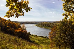 Tula region. Russia (RikkiBoom) Tags: russia village forest river nature green yellow autumn fall colorsinourworld colors outdoor water