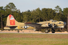 Takeoff Roll! (Jays and Jets) Tags: plane airplane warbird boeing b17 flyingfortress pns kpns pensacolainternationalairport collingsfoundation bomber