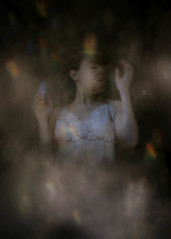 Confusion (Indiesigh Ph) Tags: confusion reflex digitalmanipulation digital art creative atmosphere selfportrait dress texture fog italy 2017 indiesigh soul dark mistery girl fineart people