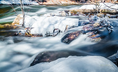 Hollow River Chute (stevebowmanphotography) Tags: waterfalls chute rapids water rocks snow ice