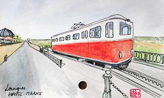 Le Tour de France virtuel - 52 - Haute-Marne (chando*) Tags: croquis sketch aquarelle watercolor france
