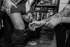 (oskiaranda) Tags: tattoo lighter middlefinger punkphotography rockphotography punk punkrock punx punks monochrome