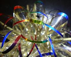 Tied up in a bow (lindakowen) Tags: macromondays bow macro party celebration giftbow happy10years