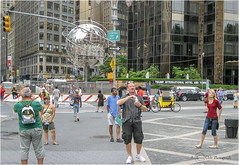 Snapping the snappers (brianac37) Tags: people newyorkcity manhattan upperwestside columbuscircle
