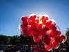 Disneyland Balloons (nikkinicknicol) Tags: disneyland red balloons mickey ears air sky