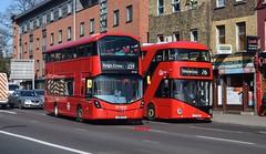 Swaps... (KLTP17) Tags: hv207 lk66hco wrightbus gemini arriva london swap goahead ltz2125 lt925