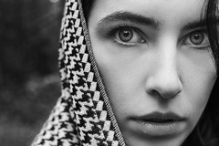 *** (shadobb) Tags: портрет portrait girl bw blackandwhite wb bnw monochrome sony mitakon f095