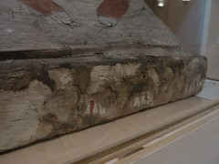 Front of the Pedestal: Unnamed Coffin (meechmunchie) Tags: coffin ancientegypt ptolemaic cincinnatiartmuseum lateperiod
