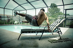 The Levitate (ThatRaulSanchez) Tags: summer pool levitation levitate