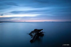 Alviso Log (universini) Tags: ca longexposure b sunset sky slr colors canon slowshutter canon5d alviso sini mandya universini siddegowda nidagatta