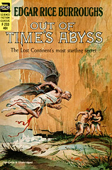 Out of Time's Abyss (McClaverty) Tags: illustration paperback sciencefiction pulp edgarriceburroughs roykrenkeljr