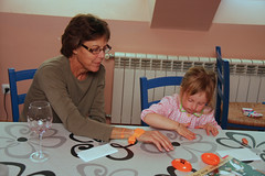 Silly Putty With Grandma (erikrasmussen) Tags: grandmother nora betsy sillyputty